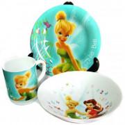 """LUMINARC Набор посуды д/завтрака 3 пр."""" Disney Fairies Butterfly """" H 5839"""