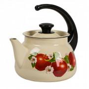 КМК Эмалированный чайник 3,0л. 42704 122/6 слоновая кость