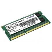 PATRIOT Память для ноутбука DDR3 4Gb 1333MHz PSD34G 352757