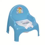DD STYLE Горшок- кресло детский 11102 голубой