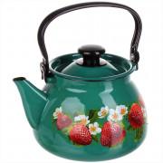 КМК Эмалированный чайник 3,0л. 42115 123/6 бирюзовый