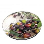 MARTA Весы кухонные MT 1635 черная олива