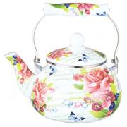 """METALLONI Эмалированный чайник 2,5 л.""""Таинственный сад"""" EM 251X1/27 DL"""