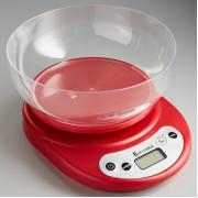 ВАСИЛИСА Весы кухонные ВА 010 красные