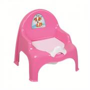 DD STYLE Горшок- кресло детский 11102 малиновый