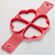 "WEBBER Форма 35x16x1.5см ""Сердца"" BE 4486 S темно-розовая"