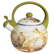 """METALLONI Эмалированный чайник 2,5 л.""""Сицилия"""" ЕМ 25001/41"""