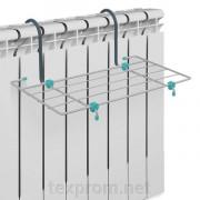 НИКА Сушилка для белья на батарею отопления СБ5-45 серебро