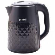 DELTA Электрический чайник DL 1103 черный