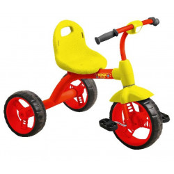 НИКА Велосипед детский ВД1 /1 красный с желтым