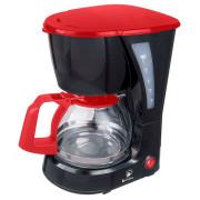ВАСИЛИСА Кофеварка КВ1 600 DL черная с красным