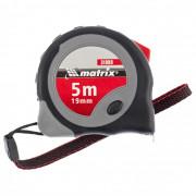 Matrix Рулетка Continuous fixation 5м*19мм, обрезиненный корпус, плавная фиксация 31088