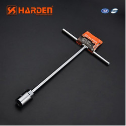 HARDEN Ключ профессиональный Т-тип 10мм 670206
