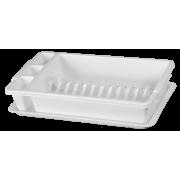 АР-ПЛАСТ Сушилка для посуды 16014 белый