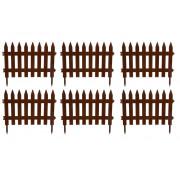 """МУЛЬТИ- ПЛАСТ Забор 3 м. """"Садовый"""" 020004 коричневый"""
