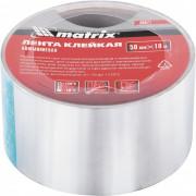 Matrix Лента клейкая алюминиевая, 50 мм х 10 м 89071