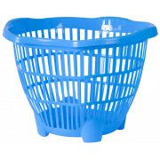 АР-ПЛАСТ Корзина для белья 30 л.15001 голубой