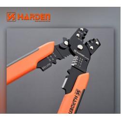 HARDEN Многофункциональный обжимной стриппер 0.6-2.0мм 660629