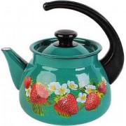 КМК Эмалированный чайник 3,0л. 42715 123/6 бирюзовый