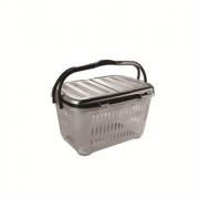 DD STYLE Корзина для пикника 03101 черный/серебристый