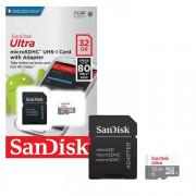 SANDISK Ultra Флеш карта micro SDHC 32Gb 1007547