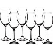 """BOHEMIA Набор бокалов для вина """"Sylvia/Klara"""" 280 мл. (6шт) 91L/4S415/0/00000/280-662"""