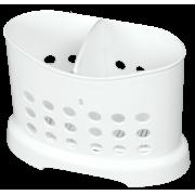 АР ПЛАСТ Подставка для столовых приборов 09005 белый