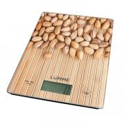 LUMME Весы кухонные LU 1340 ореховая россыпь