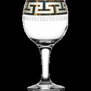 """ГУСЬ ХРУСТАЛЬНЫЙ Набор бокалов для вина """"Греческий узор"""" 260мл. GE03-411"""