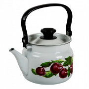 КМК Эмалированный чайник 2,0л. 42704 102/6 белый