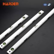 HARDEN Уровень алюминиевый с линейкой 600мм 580525