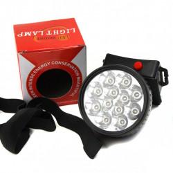 Фонарь LED на лоб №1396 /568 7led*3R6