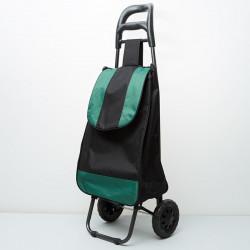 DELTA Тележка багажная ручная 25 кг DT 20 зеленая с черным