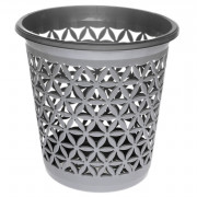 DD STYLE Корзина для мусора 05306 серебро
