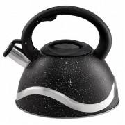 WEBBER Чайник 3,0 л. BE 0574 черный мрамор
