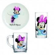 "LUMINARC Набор посуды д/завтрака 3 пр."" Disney Colors Minnie"" H 5321"
