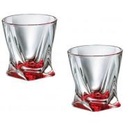 """BOHEMIA Набор стаканов для виски """"Quadro"""" 340 мл. (6шт) 7K8/1K936/0/72R94/340-669"""
