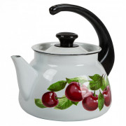 КМК Эмалированный чайник 3,0л. 42704 122/6 белый