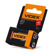 Videx Батарейка солевая 6F22/9V (Крона) 653