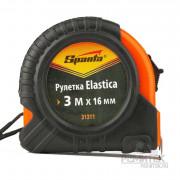Sparta Рулетка Elastica 3м*16мм, обрезиненый корпус 31311